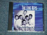 "The FIVE KEYS - HUCKLEBUCK WITH TIMMY ; Included UNRELEASED TRACKS! (NEW )  /  ""BRAND NEW"" CD"