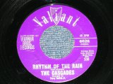 "THE CASCADES - RHYTHM OF THE RAIN ( Ex++/Ex++) / 1962 US AMERICA ORIGINAL Used 7"" Single"