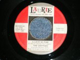 "THE CHIFFONS - A LOVE SO FINE (Ex/Ex ) /  1963 US AMERICA  ORIGINAL Used 7"" Single"