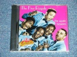 """画像1: THE 5 FIVE ROYALS - THE APOLLO SESSIONS  ( SEALED )  / 1995 US AMERICA ORIGINAL """"BRAND NEW SEALED"""" CD"""