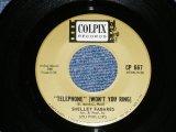 "SHELLEY FABARES - TELEPHONE : BIG STAR  ( BARRY MANN  Works )   ( Ex+++/Ex+++ )  / 1962 US AMERICA ORIGINAL   Used 7"" SINGLE"