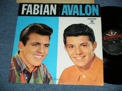 "画像1: FABIAN & FRANKIE AVALON - THE HIT MAKER ( Ex++/Ex++)  / 1960 US AMERICA ORIGINAL 1st Press ""BLACK Label""  MONO Used  LP"