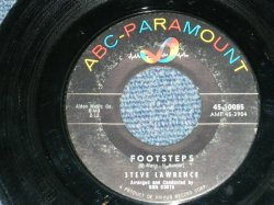 "画像1: STEVE LAWRENCE - FOOTSTEPS : YOU DON'T KNOW  ( Ex+/Ex+)  / 1960 US AMERICA  ORIGINAL Used 7"" SINGLE"