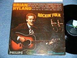 画像1: BRIAN HYLAND - ROCKIN' FOLK  ( Ex+/Ex++ )  / 1965 US AMERICA ORIGINAL MONO Used LP