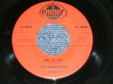 "THE SILHOUETTES - GET A JOB : I AM LONELY (Ex/Ex)  / 1958 US AMERICA ORIGINAL Used 7""SINGLE"