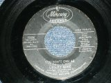 "LESLEY GORE  -  YOU DON'T OWN ME : RUN BABY,RUN  ( Ex+/Ex+ )  / 1963 US AMERICA ORIGINAL  Used 7"" inch Single"