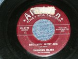 "THURSTON HARRIS - LITTLE BITTY PRETTY ONE : I HOPE YOU WON'T HOLD IT AGAINST ME  (VG++ Looks:VG+/VG++ Looks:VG+ )  / 1957 US AMERICA ORIGINAL 7"" SINGLE"