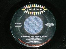 """画像1: VINNIE MONTE - PAINTING THE TOWN WITH TEARDROPS ( C.WEIL & B.MANN) : ASK YOUR HEART ( BEN RALEIGH & JEFF BARRY)  ( Ex++/Ex++ )  /  1962  US AMERICA ORIGINAL Used 7"""" SINGLE"""