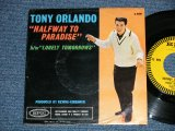 "TONY ORLAND - HALFWAY TO PARADISE ( J.GOFFEN & C.KING) : LONELY TOMORROWS  ( Ex++/Ex+++ ) / 1961 US AMERICA ORIGINAL ""With PICTURE SLEEVE / PS""  Used 7"" SINGLE"