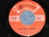 "THE SHIRELLES - THE DANCE IS OVER : TONIGHTS THE NIGHT  ( Ex-/Ex+ ) / 1960  US AMERICA  ORIGINAL 1st Press "" RED LABEL"" Used 7"" SINGLE"