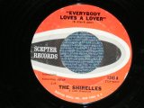 "THE SHIRELLES - EVERYBODY LOVES A LOVER : I DON'T THINK SO ( Ex+++/MINT-  Looks:Ex+++ ) / 1962 US AMERICA  Used 7"" SINGLE"