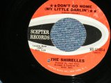 "THE SHIRELLES - DON'T GO HOME : NOBODY BABY AFTER YOU  ( Ex++/Ex++ WOL ) / 1967 US AMERICA  Used 7"" SINGLE"
