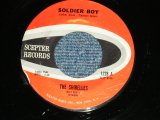 "THE SHIRELLES - SOLDIER BOY : LOVE IS A SWINGIN' THING ( Ex+++/Ex+++ WEAR ) / 1962 US AMERICA  Used 7"" SINGLE"