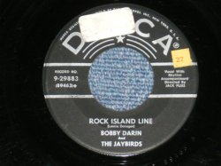 "画像1: BOBBY DARIN - ROCK ISLAND LINE : TIMBER ( 1st Debut Single )  ( Ex+/Ex+) / 1956 US AMERICA ORIGINAL  Used  7"" Single"