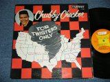"CHUBBY CHECKER -  FOR TWISTERS ONLY   ( 2nd press ""ORANGE&YELLOW Label"" ) ( Ex++.Ex++ )   / 1962 US AMERICA ORIGINAL 2nd Press Label MONO Used LP"