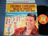CHUBBY CHECKER -  BEACH PARTY   ( Ex+++,Ex/MINT- )   / 1963 US AMERICA ORIGINAL 1st  Press Label MONO Used LP -
