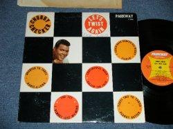 """画像1: CHUBBY CHECKER -  LET'S TWIST AGAIN   ( 2nd press """"ORANGE&YELLOW Label"""" ) ( Ex+/Ex+++ : WOFC)   / 1962 Version  US AMERICA ORIGINAL 2nd Press Label MONO Used LP -"""