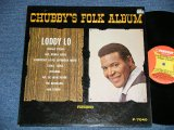 CHUBBY CHECKER -  BCHUBBY'S FOLK ALBUM  ( Ex++/Ex++ )   / 1964 US AMERICA ORIGINAL 1st  Press Label MONO Used LP -