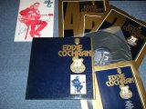 "EDDIE COCHRAN - 20tH ANNIVERSARY ALBUM   / 1980  UK ENGLAND ORIGINAL ""4 LP's Box Set  with BOOKLET"" Used LP"