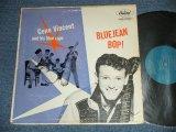 "GENE VINCENT -  BLUEJEAN BOP! ( VG+++/Ex Looks: VG+++ ) / 1957 US AMERICA ORIGINAL 1st Press""TURQUOISE Label""  MONO Used LP"