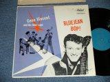 "GENE VINCENT -  BLUEJEAN BOP! ( Ex++/Ex++ Looks: Ex ) / 1957 US AMERICA ORIGINAL 1st Press""TURQUOISE Label""  MONO Used LP"