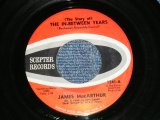 "JAMES McCARTHUR - THE IN-BETWEEN YEARS : TEENAGE TEARS ( Ex++/Ex++ )   / Early 1960's  US AMERICA ORIGINAL Used 7""45rpm Single"