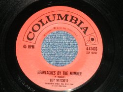 "画像1: GUY MITCHELL - HEARTACHES BY THE NUMBER  : TWO  ( Ex++/Ex+ )  / 1959 US ORIGINAL Used 7""SINGLE"