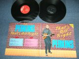 CARL PERKINS - THAT'S ALL RIGHT ( Ex+++/MINT- )  / 1987  DENMARK Used 2-LP's