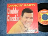 "CHUBBY CHECKER - DANCIN' PARTY : GOTTA GET MYSELF TOGETHER   ( Ex+/Ex+)  / 1962 US AMERICA  ORIGINAL Used  7"" Single With PICTURE SLEEVE"