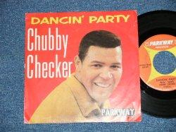 """画像1: CHUBBY CHECKER - DANCIN' PARTY : GOTTA GET MYSELF TOGETHER   ( Ex+/Ex+)  / 1962 US AMERICA  ORIGINAL Used  7"""" Single With PICTURE SLEEVE"""