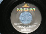 """CONNIE FRANCIS - WHEN THE BOY IN YOUR ARMS : BABY'S FIRST CHRISTMAS ( Ex+++/Ex++) / 1961 US AMERICA ORIGINAL Used 7"""" SINGLE"""