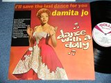 "DAMITA JO - I'LL SAVE THE LAST DANCE FOR YOU  ( 12 Tracks ) ( NEW )  / 1985 SWEDEN  ""BRAND NEW"" LP"
