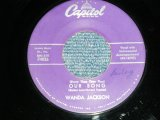 "WANDA JACKSON  - OUR SONG : MEAN MEAN MAN ( Ex+/Ex+ )  / 1958 US AMERICA ORIGINAL Used 7""Singl"