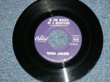 "WANDA JACKSON -  IN THE MIDDLE OF A HEARTACHE : I'D BE ASHAMED ( Ex++/Ex++)  / 1963 US AMERICA ORIGINAL Used 7""Single"