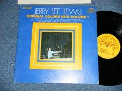 画像1: JERRY LEE LEWIS - ORIGINAL GOLDEN HITS VOL.1 (Matrix # XSBV-130191-1B SUN-102H/XSBV-130192-1A SUN-102B )  ( Ex+,Ex++/Ex+++ )  / 1969 US AMERICA  ORIGINAL Used LP