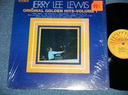 画像1: JERRY LEE LEWIS - ORIGINAL GOLDEN HITS VOL.1 (Matrix # SIDE I SUN-102 SIC 49 M Paul / SIDE II SUN-102 SIC 49 M Paul )  ( MINT-/MINT- )  / 1969 US AMERICA  ORIGINAL Used LP