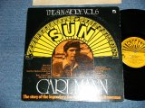 CARL MANN -  THE SUN STORY : THE STORY OF THE LEGENDARY SUN LABEL OF MEMPHIS,TENNESSEE  ( Ex+/Ex+++)  /1977 US AMERICA  ORIGINAL  Used  LP
