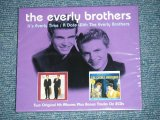 "The EVERLY BROTHERS - IT'S EVERLY TIME/A DATE WITH  ( BRAND  NEW SEALED) / 2014 EUROPE  "" BRAND NEW SEALED"" 2-CD"