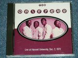 THE DRIFTERS - LIVE AT HARIARD UNIVERSITY DEC. 2. 1972 ( MINT/MINT)   / 1992 FRANCE FRENCH ORIGINAL  Used CD