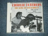 "CHARLIE FEATHERS - THIS LITTLE SHOW ( NEW  ) / 1999 GERMAN GERMANY  ORIGINAL ""BRAND NEW"" CD"