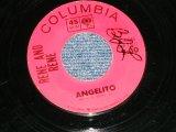 "RENE AND RENE - ANGELITO / WRITE ME SOON (DREAMY TEEN-POP) ( Ex+/Ex+ : WOL)  / 1964 US AMERICA  ORIGINALUsed  7"" SINGLE"
