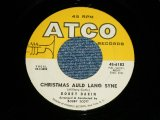 "BOBBY DARIN - CHRISTMAS AULD LANG SYNE / CHILD OF GOD ( Ex+/Ex+)   / 1960 US AMERICA ORIGINAL  Used  7"" Single"