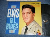 "ELVIS PRESLEY -  G.I. BLUES ( Matrix # A) L2 PY 3659-1S    B) L2 PY 3660-1S) ( Ex++/Ex+ Looks:Ex ) / 1960 US AMERICA ORIGINAL 1st Press  ""SILVER RCA VICTOR logo on Top & LIVING STEREO  at BOTTOM"" Label STEREO Used LP"