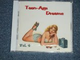 "V.A. (VARIOUS ARTISTS) OMNIBUS - TEEN-AGE TEENAGAE DREAMS  VOL.4  ( SEALED)  / 2003 GERMAN GERMANY  ORIGINAL ""BRAND NEW SEALED""  CD"