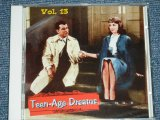"V.A. (VARIOUS ARTISTS) OMNIBUS - TEEN-AGE TEENAGAE DREAMS VOL.13 ( SEALED)  / 2003 GERMAN GERMANY  ORIGINAL ""BRAND NEW SEALED""  CD"