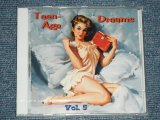 "V.A. (VARIOUS ARTISTS) OMNIBUS - TEEN-AGE TEENAGAE DREAMS  VOL.5  ( SEALED)  / 2003 GERMAN GERMANY  ORIGINAL ""BRAND NEW SEALED""  CD"
