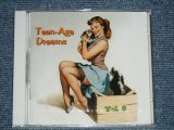 "V.A. (VARIOUS ARTISTS) OMNIBUS - TEEN-AGE TEENAGAE DREAMS  VOL.6  ( SEALED)  / 2003 GERMAN GERMANY  ORIGINAL ""BRAND NEW SEALED""  CD"