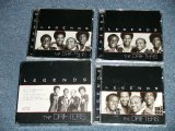 THE DRIFTERS - LEGENDS (RE-Recordings)  ( Ex++,MINT- /MINT)   / 2004  Used 3-CD's Box Set