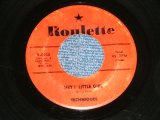 "TECHNIQUES - HEY LITTLE GIRL : IN A ROUND ABOUT WAY  ( VG++/VG++ ) / 1957 US America  ORIGINAL  Used 7"" SINGLE"