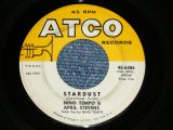 "NINO TEMPO & APRIL STEVENS - STARDUST : 1-45  .(Ex/Ex  WOL ) / 1964 US AMERICA ORIGINAL Used 7"""